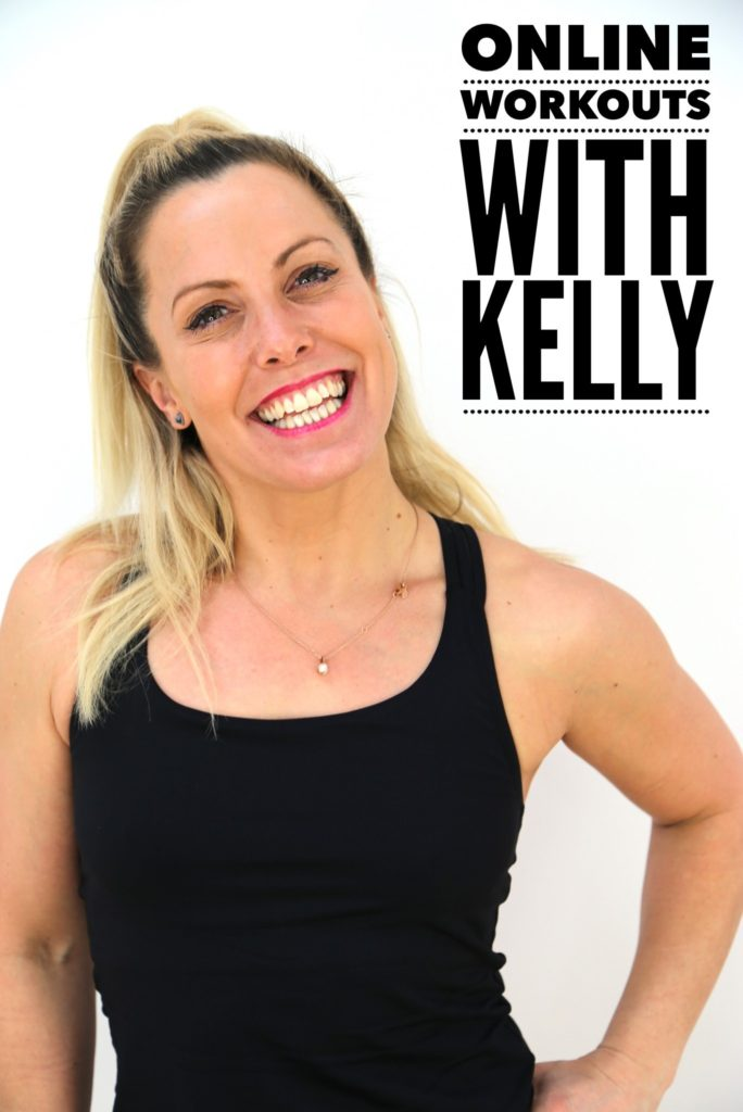 online workouts with Kelly